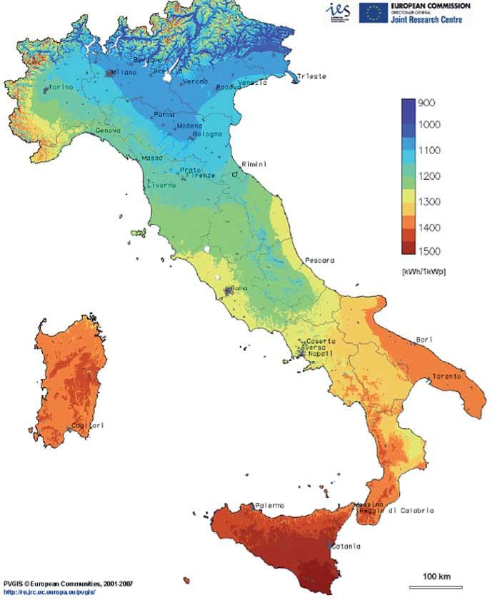 mappa-irraggiamento-solare-italia