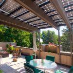 Coperture per Pannelli Fotovoltaici per Terrazzi