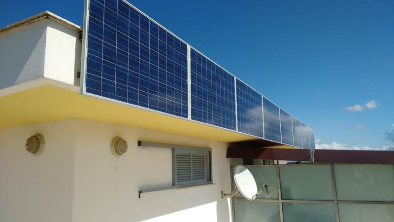fotovoltaico su balcone condominiale