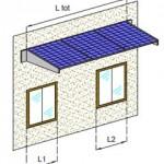 Installare i pannelli fotovoltaici sulle tettoie frangisole